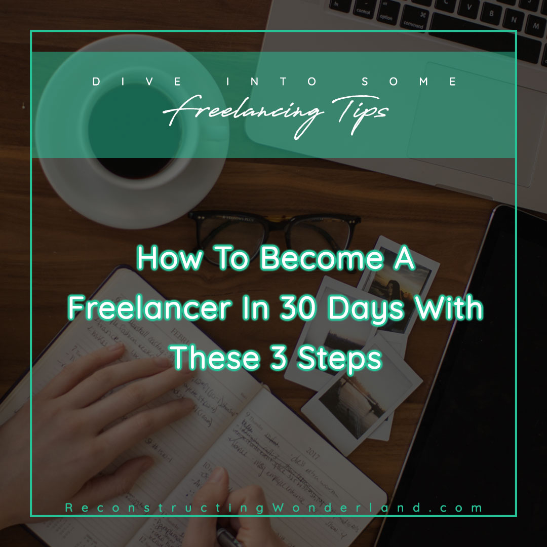 become a freelancer in 30 days